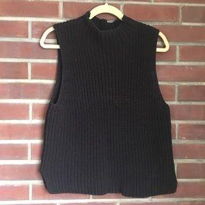 Madewell Sleeveless Knit Turtleneck - Size M
